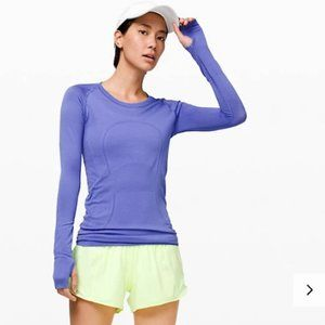 Lululemon Swiftly Tech Long Sleeve Crew Violet
